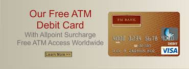 free debit cards atm debit cards business