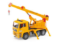 bruder excavator amazon com bruder man crane truck toys u0026 games