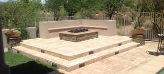Firepit Images Our Scottsdale Outdoor Pit Portfolio Desert Crest Llc
