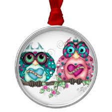 style owl ornaments keepsake ornaments zazzle