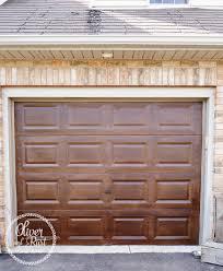 garage door house ravioli pics gel stain garage door revamped