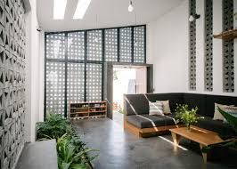 Low Cost House by Low Cost Perforated Home In Vietnam Shows Off The Charms Of