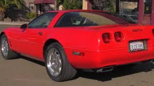 95 chevy corvette c4 1995 chevrolet corvette coupe automatic 76kmiles