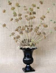 Footed Glass Vase Wshg Net Cut And Dried U2014 Lasting Flower Arrangements Featured