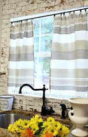 Dishtowel Curtains Kitchen Curtains Towels And Kitchens - Simple kitchen curtains