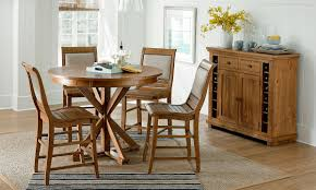 pine willow dining table chairs the dump america s furniture picture of pine willow dining collection