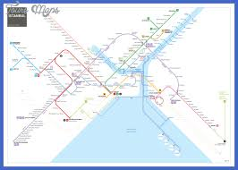 istanbul metro map istanbul subway map map travel vacations
