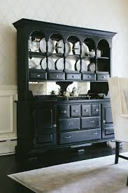 dining room hutches dining room a luxurious black dining room buffet and hutch with