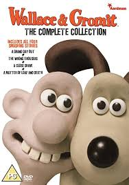 wallace u0026 gromit complete collection dvd amazon uk