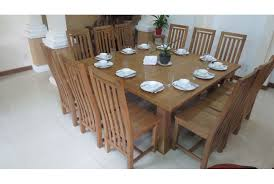 simple decoration square dining table for 12 interesting