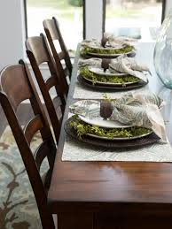 photos hgtv hostess setting table for hand crafted holiday party