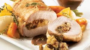 recette cuisine porc longe de porc aux dattes et au cheddar vieilli recettes iga rôti