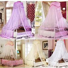 luxury bed dome canopy lace insect bed canopy princess round