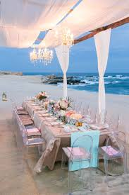 Wedding Table Set Up Beautiful Table Setup At Cabo Del Sol By Signature Event Design