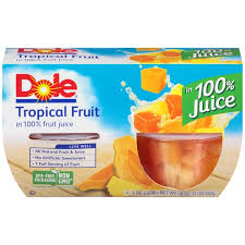 tropical fruit delivery kroger dole tropical fruit in 100 juice delivery online in dallas