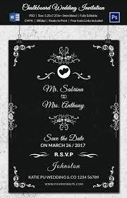 chalkboard wedding program template wedding program template 61 free word pdf psd documents