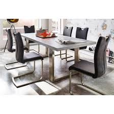 grey dining table set wonderful savona grey dining table with 6 pavo chairs 23413 for and