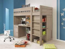 chambre enfant conforama lit surelevé combiné largo coloris chêne gris vente de lit