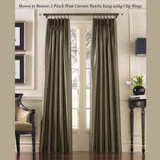 Sheer Gray Curtains by Bedroom How To Make Pinch Pleated Drapes Deluxe With Splendor