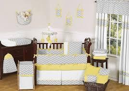 Yellow Crib Bedding Set Yellow And Gray Baby Crib Bedding Sets Home Decorations