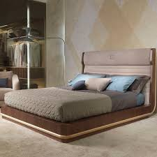 Wooden Headboards For Double Beds by Double Bed Contemporary Wooden With Upholstered Headboard And Wood