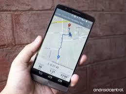 Google Maps Running Route by Using The Lg Health App On The Lg G3 Android Central