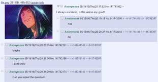 Anime Meme Website - seriously though which anime is this 4chan know your meme