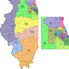 Illinois District Map by Illinois Supreme Court Blocks Redistricting Reform Initiative