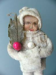 Old German Christmas Decorations by He Old Christmas Station Cotton Snow Child Old Christmas