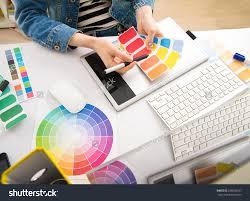 Graphic Design Home Office Inspiration Graphic Designer Desk