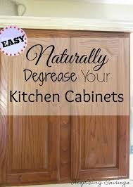 Degrease Kitchen Cabinets | how degrease your kitchen cabinets all naturally