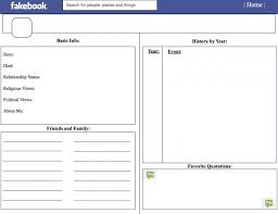 the 25 best facebook profile template ideas on pinterest