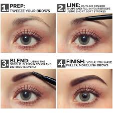 amazon com aesthetica precision brow liner double ended