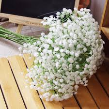 compare prices on artificial baby breath flower silk online