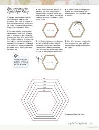 hexie template quilts y patchwork pinterest hexagons paper