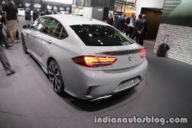 opel insignia 2017 inside opel insignia gsi showcased at iaa 2017 live