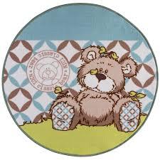 teppich rund rosa kinderteppich online kaufen bei obi