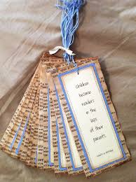 bookmark favors vintage bookmarks party favors baby shower bookpage personalized