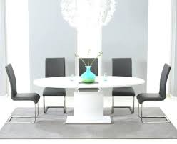 High Gloss Extending Dining Table High Gloss Tables And Chairs Dining Table With Chairs Home