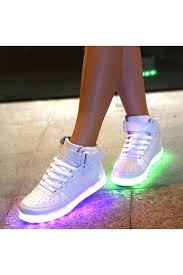 light up high tops nike fashion rechargeable led light up high top sneakers azbro com