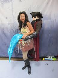 sonya nimri kidnapped mermaid halloween costume