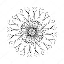 coloring page with osteospermum flowers flower power spider pur