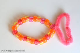 craft bracelet beads images Pony bead fish jpg