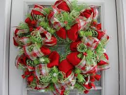 christmas mesh wreaths mesh christmas tree wreaths happy holidays