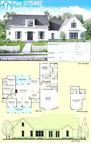plan 62650dj modern farmhouse with 2 beds and semi detached