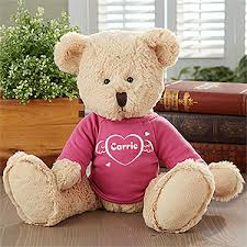 engraved teddy bears personalized teddy bears cuddles of design
