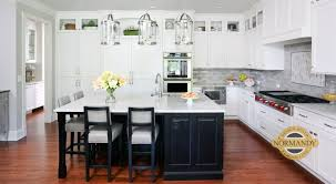 how to decorate above kitchen cabinets 2020 rule of thumb for stacked kitchen cabinets normandy remodeling