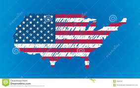 Images Of The Usa Map by Usa Map Flag With People Stock Image Image 18252311