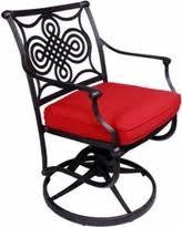 Swivel Patio Dining Chairs Amazing Deal On California Outdoor Designs Bermuda Rocker Swivel