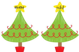 differentiation station even odd christmas freebie